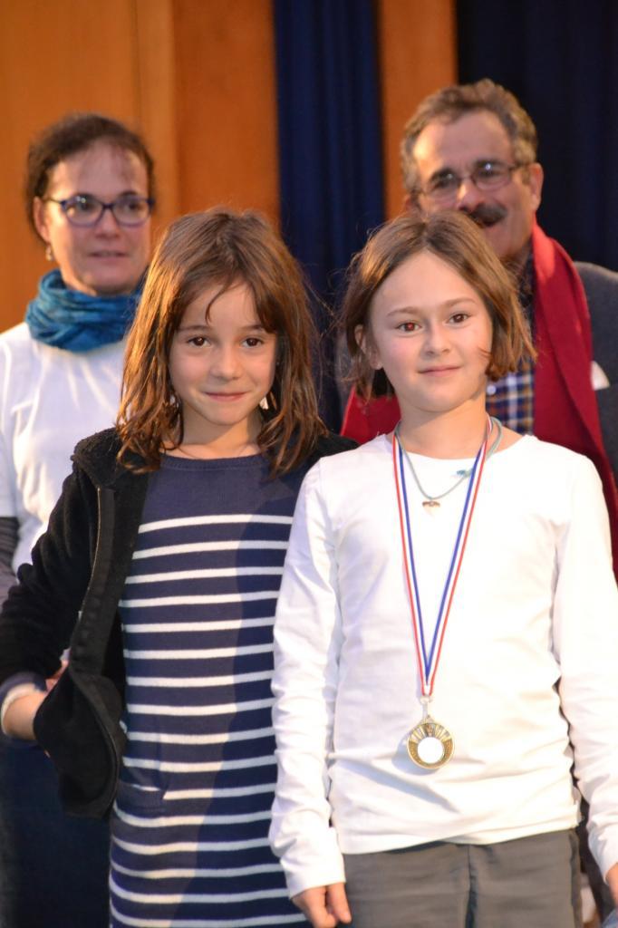 Elise et Mathilde au championnat scolaire
