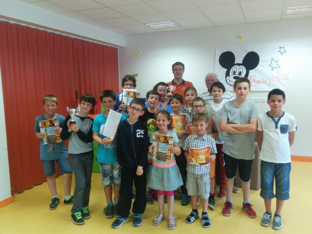 Participants du tournoi de Cinq Mars